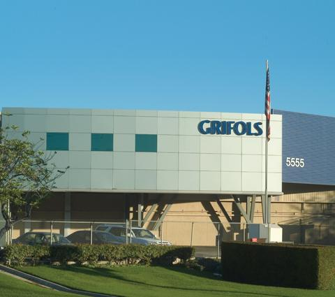 Grifols operates a manufacturing plant in Clayton.