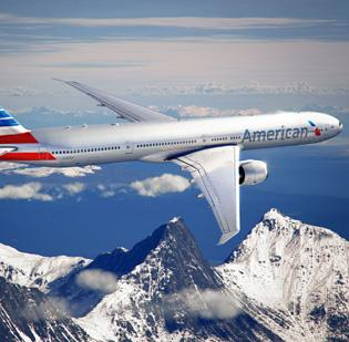 American Airlines unveiled its new livery today — the first update since 1968.