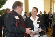 CIO Awards attendees mingle before the presentation.