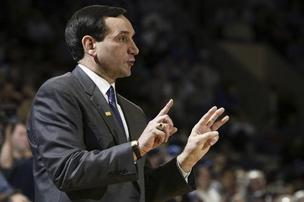 Duke men's basketball coach Mike Krzyzewski serves on the V Foundation's board of directors.