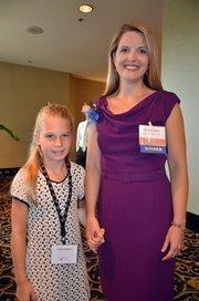 Scandinavian Child's Brenda Berg and daughter Kelly. Brenda is a 2012 WIB award winner.