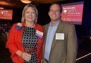 Katrinka McCallum of Red Hat is a 2012 WIB Award Winner. She is with her husband, Tom McCallum.