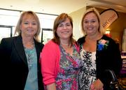 Elaine Wingate, Elizabeth Edwards and 2012 winner Krystynana Kowalczyk with Novella Clinical.