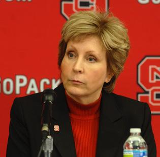 N.C. State Athletics Director Debbie Yow made the call to fire Tom O'Brien.