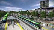 Rendering of Durham Station