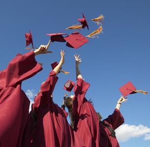 Kentucky and Indiana rank low in national rankings of the percentage of residents who have graduated from high school and college.