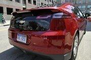 Chevrolet's new electric car, the Volt.