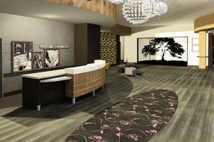 A new Hampton Inn has opened in Glenwood South.