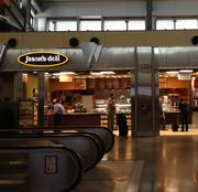 Sales at the Jason's Deli in Terminal 2 surged 13 percent in the first eight months of 2012 to $853,590, making it the No. 8 highest grossing restaurant at RDU. The Beaumont, Texas-based chain has 230 locations, mostly in the southeastern U.S.