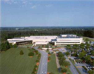 Here's the aerial view of Merck's facility in Wilson.