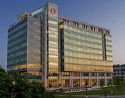 Quintiles' world headquarters looks a little different than that old trailer these days.