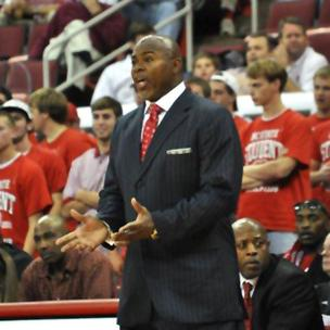 Sidney Lowe coached the Wolfpack for five years.