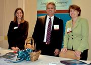 Meagan Bulloch, Robert Langdon and Karen Stanley, from left to right, attended the event on behalf of Langdon & Company.
