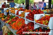 Specialty peppers were a 'hot' commodity at the farmers market.