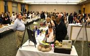 The donors helped make the silent auction a success.