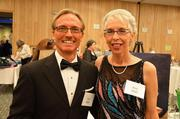 Lou and Ann Wall attended the Tuxedo Cat Ball on April 20.