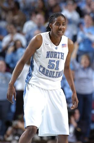 Jessica Breland, who missed last year while undergoing treatment for Hodgkin's lymphoma, played a key role in leading the UNC women's basketball team to the Sweet 16.
