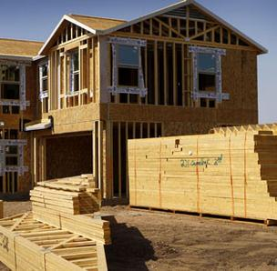 Home builders are optimistic about future sales of new houses; its current sales that are down.