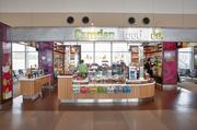 The Camden Food Co.'s location in Terminal 2 is the airport's No. 9 restaurant in terms of sales, with $847,663 from January through August, up 3 percent from 2011. Camden has six locations in North America, all in airports.