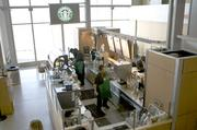 Starbucks is RDU's top-grossing restaurant brand, with sales of $2.6 million in the first eight months of 2012. That probably shouldn't be surprising, given that it has three locations inside the airport. The brand's sales grew at an annual rate of 21 percent, more strongly than those of almost any other restaurant brand at RDU. They were aided by a new location that opened near Terminal 1's gate A24 in February, which is busier than a previous location near gate A15.
