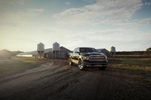 The Dodge Ram ad that featured still photos of American farmers — and the voice of broadcasting icon Paul Harvey — generated the most social media activity during yesterday's Super Bowl.