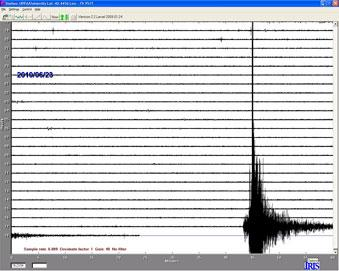 The Triangle felt the tremors from an earthquake on Tuesday.