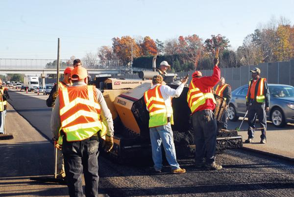 NCDOT will be working on Capital Boulevard next week.
