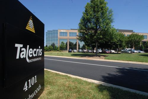 Talecris has about 1,500 employees at its manufacturing facility in Clayton.