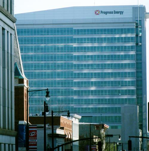 The Progress Plaza One Building may be renamed as part of a a rebranding of Duke Energy that will occur early next year.