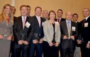 The 2013 CFO of the Year Award winners pose for a photo.  Click here to see more photos from the July 18 CFO Awards.