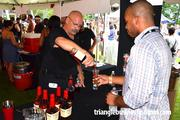 Maker's Mark had a line forming to sample its whiskey at the Beer, Bourbon & BBQ Festival.