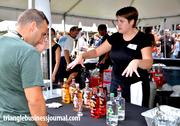Bardstown, Ky.-based Burnett's Vodka and Gin had a handful of vodkas to sample. Orange Cream, Pink Lemonade, Fruit Punch and Lime vodka were all available.