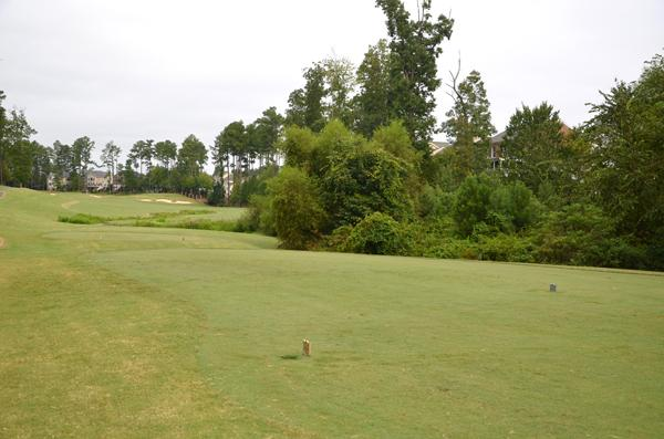 A view from the 17th tee at Brier Creek Country Club.