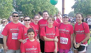 Accenture has been named as one of the best places to work in 2012.