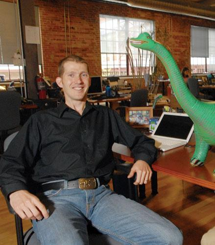 Bronto Software, whose Joe Colopy is seen in this file photo, is a 2011 Best Places to Work winner.
