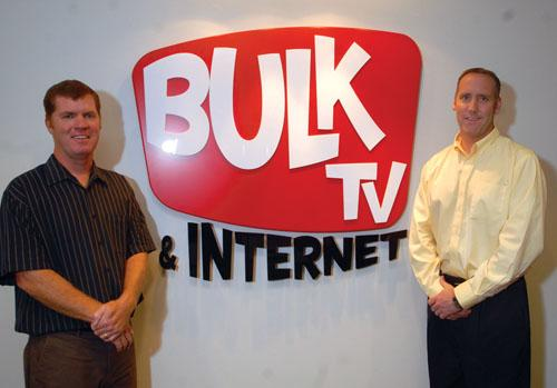 Founders Dave O'Connell, president (right), and Tom Conley, COO (left)