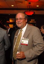 Ray Clinebelle represented sponsor Cherry Bekaert & Holland LLP at the reception Wednesday night.