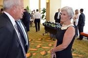 Beth and Paul Thomas of Newcomb and Co. at the CFO of the year awards.