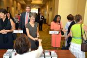 Registration at the CFO of the Year awards.
