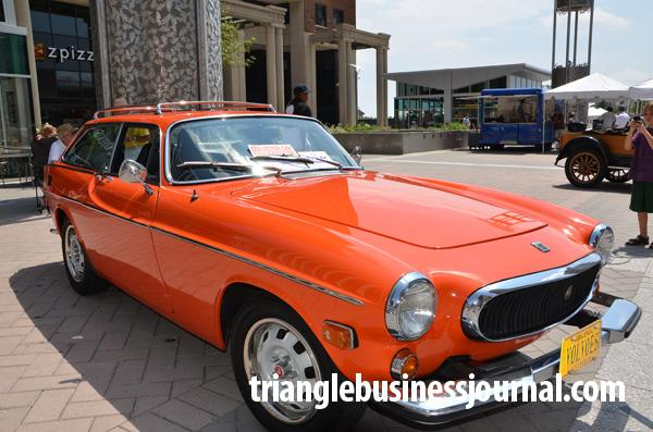 1973 Volvo 1800ES with 112-HP and 102,000 miles.