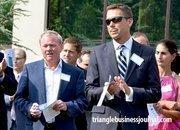 Kane Realty Corporation's John Kane, left, and Mike Smith.