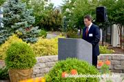 The Duke Raleigh Gardens was a beautiful backdrop for the event.