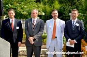 Doug Vinsel, Jeff Benson and Ford Robertson with Kilpatrick Townsend, and Mike Smith with Kane Realty Corp.