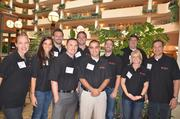 Employees with Weatherby Healthcare at the 2012 Best Places to Work Awards.