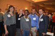 Employees with DPR Construction at the 2012 Best Places to Work Awards.