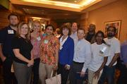 Employees with EMC Corp. at the 2012 Best Places to Work Awards.