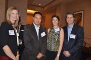 Employees with Brooks Bell at the 2012 Best Places to Work Awards.
