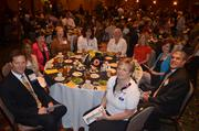 Employees with Rex Healthcare at the 2012 Best Places to Work Awards.