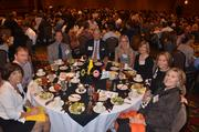 Employees with Coldwell Banker Howard Perry and Walston at the 2012 Best Places to Work Awards.