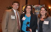Employees with PricewaterhouseCoopers at the 2012 Best Places to Work Awards.